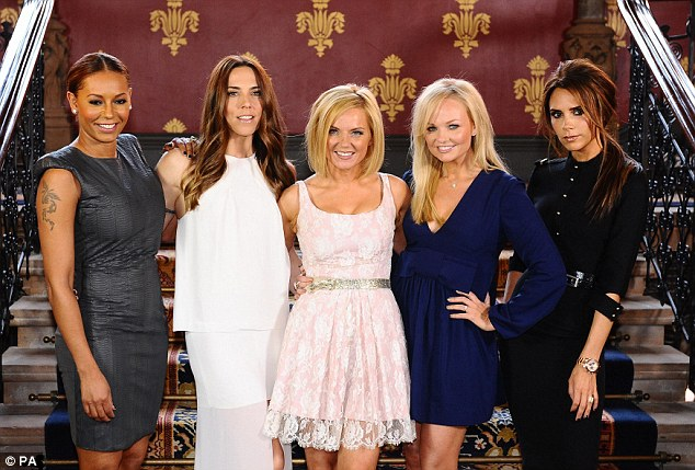 'A bit sad': Victoria Beckham does not want the Spice Girls doing old material at the 20th anniversary reunion shows as two members are not taking part