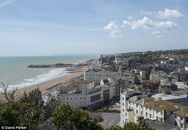 House prices in the seaside town of Hastings have grown by 6.95% in the past year