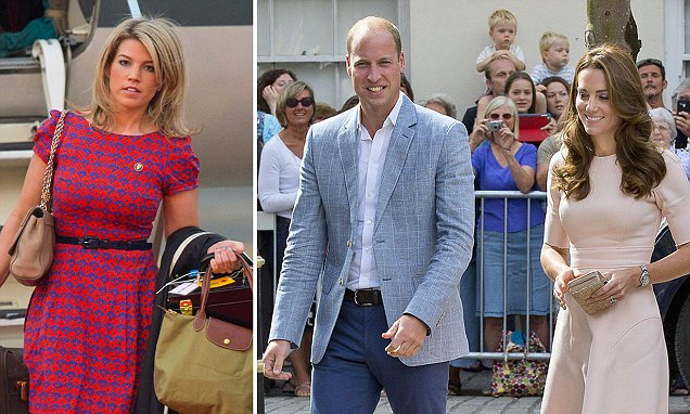 Kate Middleton lets her stylist loose on 'estate agent' Prince William