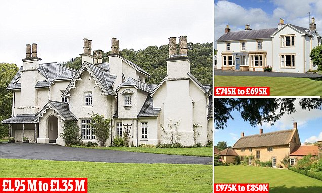 The prices of many rural homes are being slashed - so is now the right time to bag a