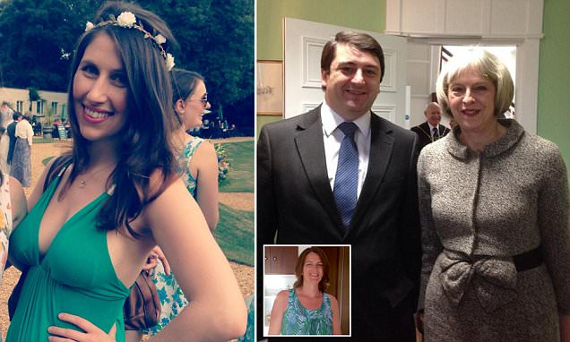 Theresa May's former council leader dumps wife to be with 32-year old aide