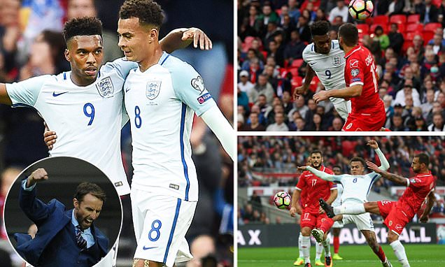 England 2-0 Malta: Daniel Sturridge and Dele Alli strike to fire Gareth Southgate to