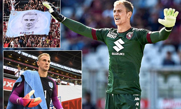 Joe Hart still frustrated by his exit from Manchester City but is 'really, really