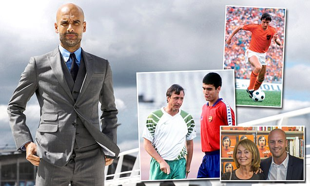 Jordi Cruyff believes father Johan would be a Manchester City fan today and says it is a