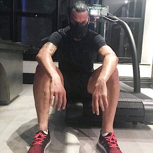 Zlatan Ibrahimovic claims 'there is no free time' as he works hard without his team-mates