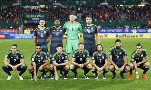 Gareth Bale won't give away if Wales' car crash team photos are all part of an in joke