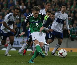 Northern Ireland 4-0 San Marino: Steven Davis, Kyle Lafferty and Jamie Ward ensure Michael