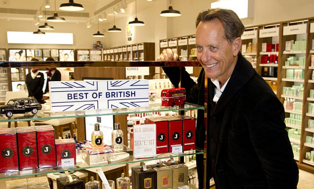 'I bought property, the stock market is for mugs,' says Richard E. Grant as the star talks