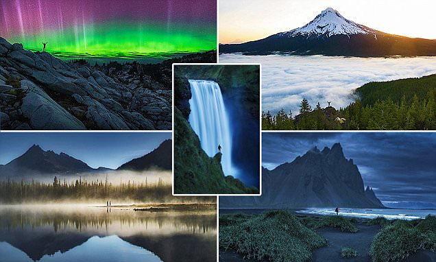 Photographer Andrew Studer's images of lone humans against the world's epic landscapes