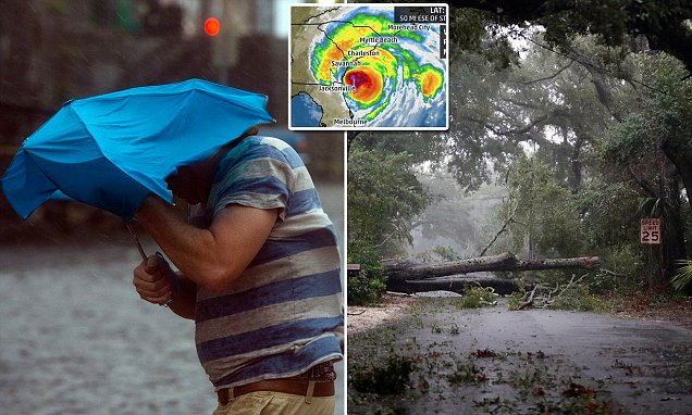 Hurricane Matthew floods Charleston as it continues to batter Carolinas and Georgia