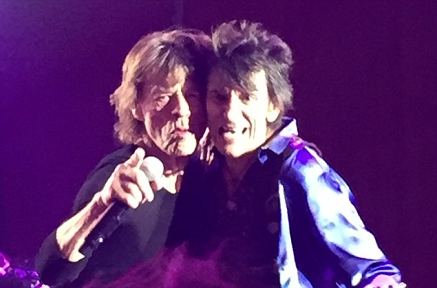 The private party, for just 1,000 lucky people in Las Vegas, was certainly a nice little earner for Mick Jagger and his bandmates Keith Richards, Charlie Watts and Ronnie Wood, with each of them pocketing £1million, according to insiders