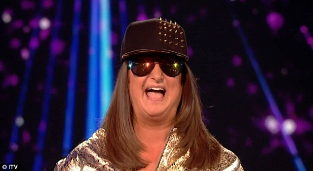 Potential winner? Honey G has surpassed expectations on the ITV talent show