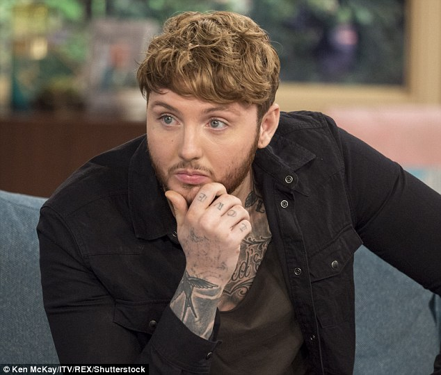 On top: Niall's release was no match for James Arthur's triumphant return, with his comeback track Say You Won¿t Let Go notching up 85,000 combined sales and charting at number one
