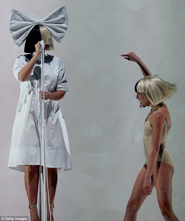 Iconic: Sia Furler, better known as just Sia, performed with dancer Maddie Ziegler at the Nostalgic For The Present tour at the Mandalay Bay Events Centre in Las Vegas on Friday