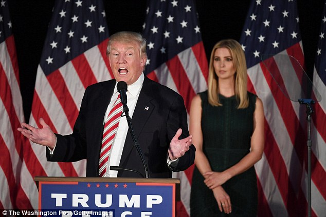Donald Trump with daughter Ivanka: Selina speaks Trump's quite extraordinary devotion to one woman in his life, his mother, Mary MacLeod