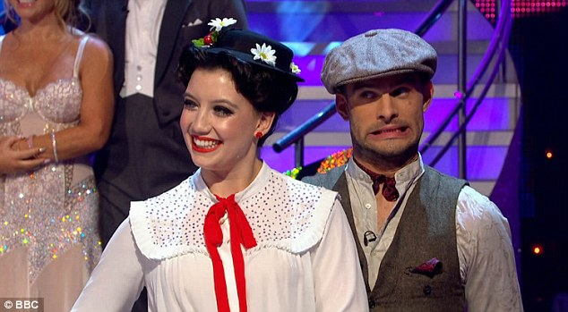 Practically perfect! Daisy Lowe dazzled Strictly audiences on Saturday night with her Mary Poppins themed quickstep