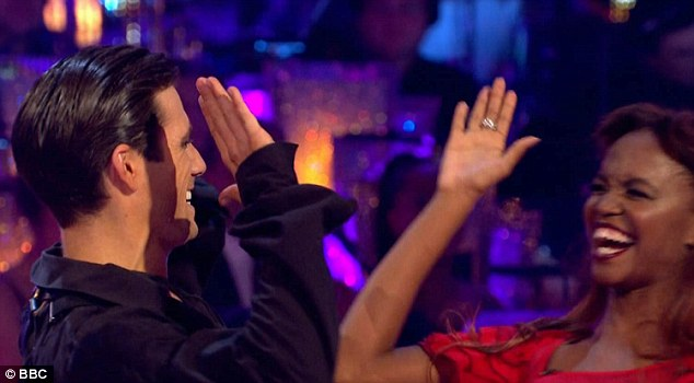 We did it! Danny and Oti received high praise from the judges, receiving the highest score of the series so far