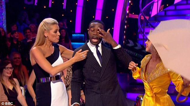 Show-stopping: Praising Joanne for her choreography, the judges were quick to agree the number was Ore's 'best dance yet', as he became overwhelmed with tears