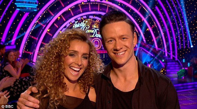 Last but not least: Louise Redknapp rounded off the evening in a truly show-stopping style with her Flashdance themed Cha Cha with Kevin Clifton