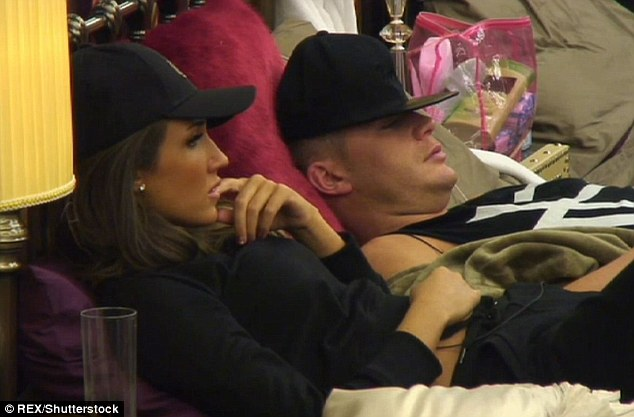 Short but sweet: Megan and Scotty's whirlwind romance was cut short when the brunette was evicted, while the Newcastle lad went on to win the series