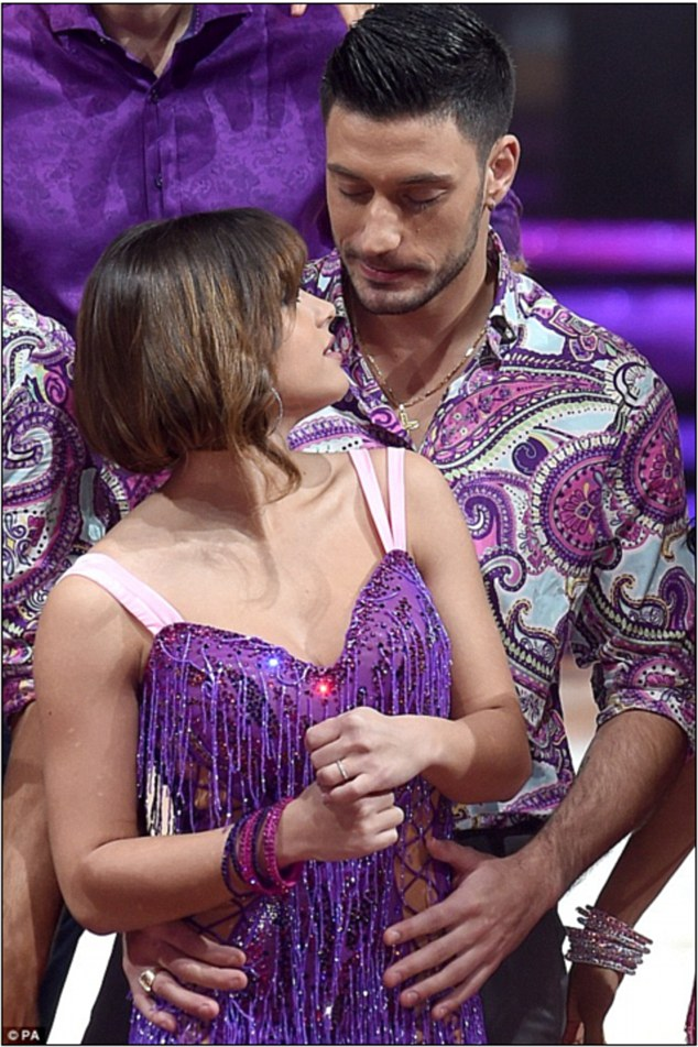 Strictly curse: Theirs became just one the show's now famous partner romances, and her relationship with Sean falling foul of 'the Strictly curse' as it fell apart shortly after the final
