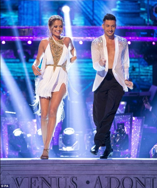 Nowadays: Since the split Giovanni has been paired up with Laura Whitmore on this season of Strictly