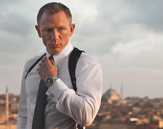 Success: Daniel has starred in Casino Royale, Quantum of Solace, Skyfall and Spectre Read since 2005