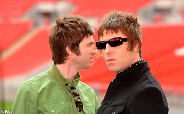 Supersonic: His new film features much of the conflict between him and Noel before it eventually forced the band to split in 2009