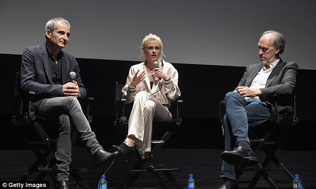 Riveted: No doubt the Twilight actress had the audience in the palm of her hand