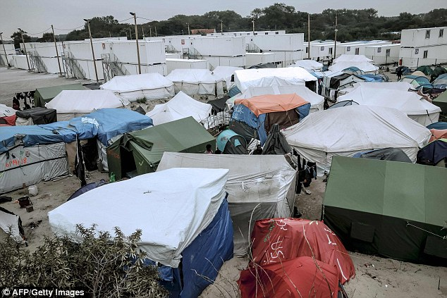 Last month, campaigners including Truly Madly Deeply star Juliet Stevenson and EastEnders' actress Ann Mitchell called on the Government to act over the Calais Jungle (pictured)