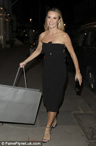 Simon Cowell's 57th birthday party was on October 05 in London