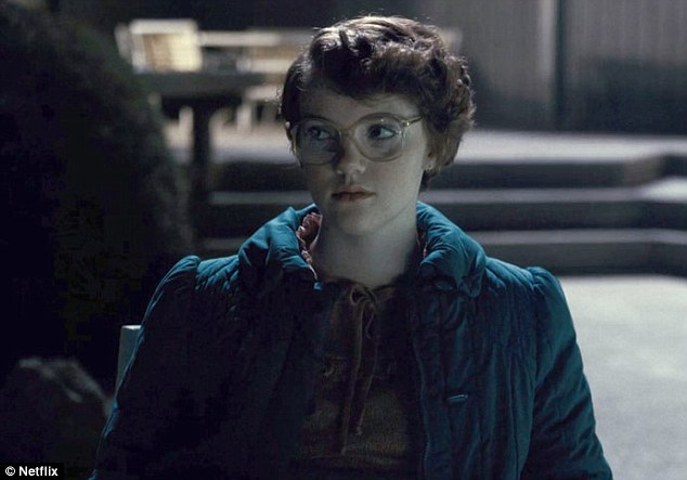 Met a bad fate: Harbour also told fans of the show that there will be justice for Barb, the high school student who was captured and killed by the Demogorgon from Upside Down