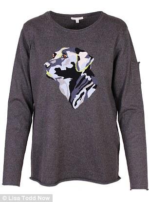 Animal instincts: Lisa Todd 'Hunter Dog' sweater, $235, larrimors.com