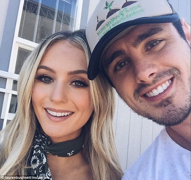Party time!Just a day after revealing they are taking their wedding planning slow, Bachelor stars Ben Higgins and Lauren Bushnell headed to Las Vegas, Nevada on Thursday for a joint Bachelor and Bachelorette bash