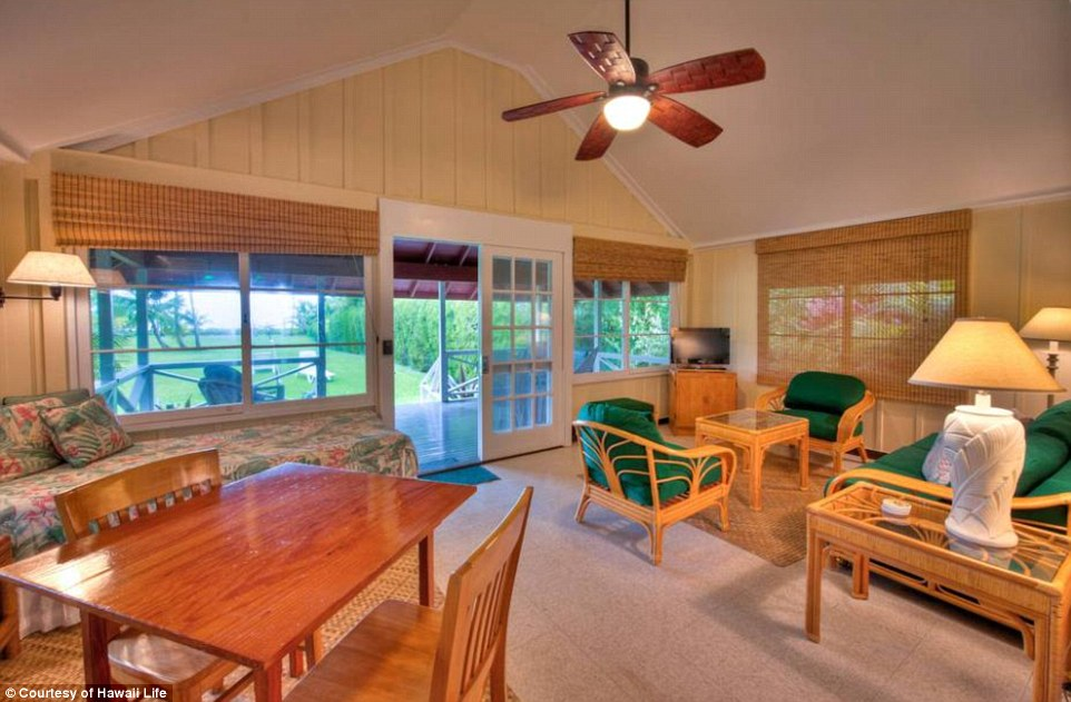 This could be yours: The one bedroom cottage on the property is currently renting for a minimum of $350 per night