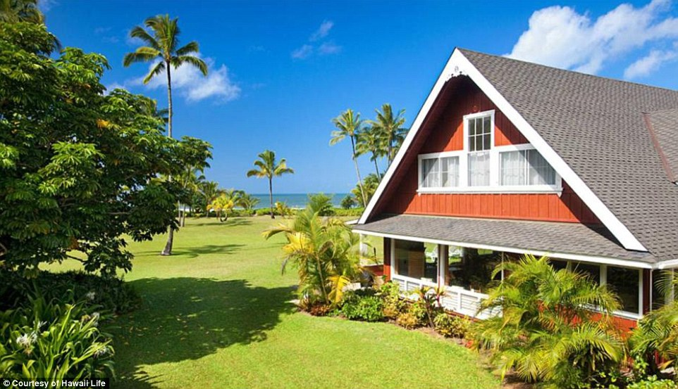 Vacation rental: The main home is being rented as a vacation home as well and starts at $1,500 per night