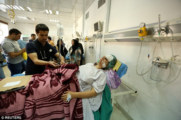 The blast killed 36 and  around 90 people were wounded, among them women and children
