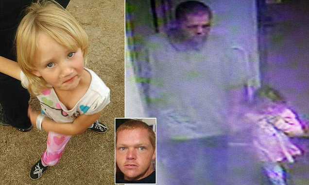 Girl who was abducted from her bed spotted on footage at Georgia gas station