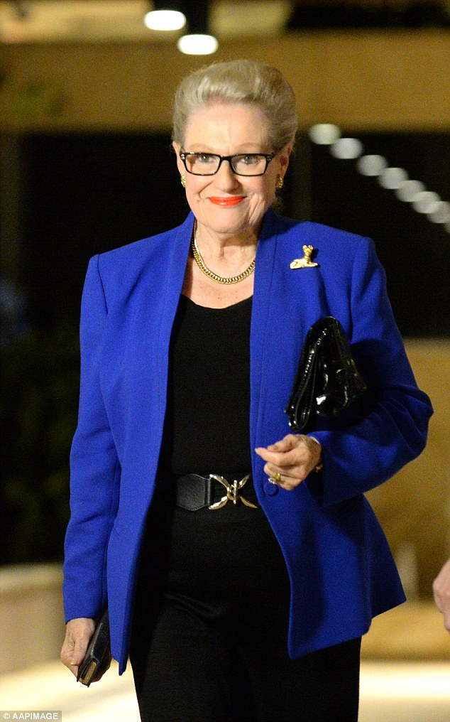If the MPs are successful in their challenge it would open the door to up to 350 retired MPs, like disgraced former Speaker Bronwyn Bishop (pictured), to claim higher payments