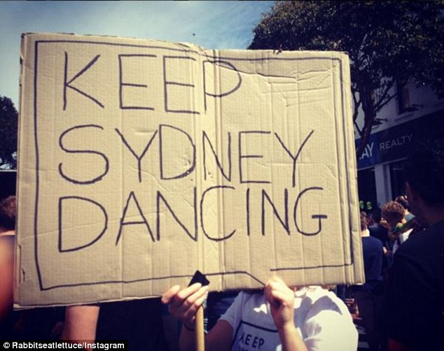 The legislation requires central Sydney venues to turn people away from 1.30am