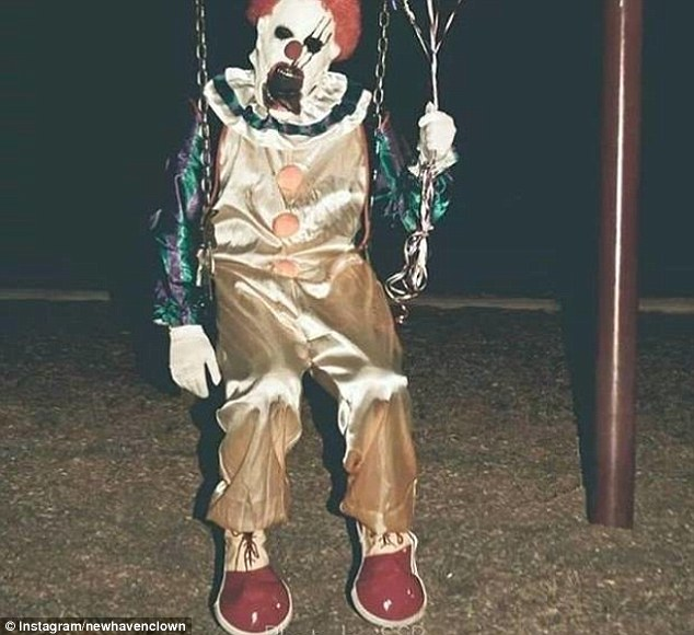 A number of sightings of spooky clowns have been reported across the United States recently