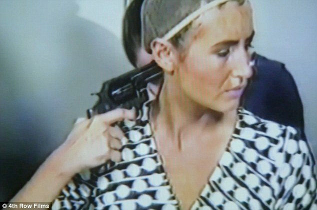Kate Plays Christine is a film about an actress, Kate Lyn Sheil, who struggles to develop into the character of Chubbuck. Sheil is pictured above from the film as she prepares for the scene about the suicide