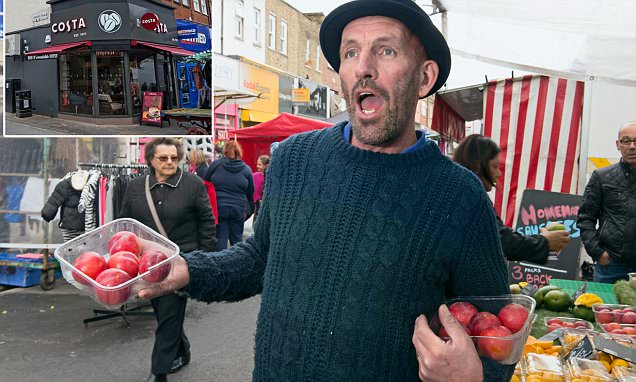 London's Chapel Market traders told to stop bellowing because it's too loud