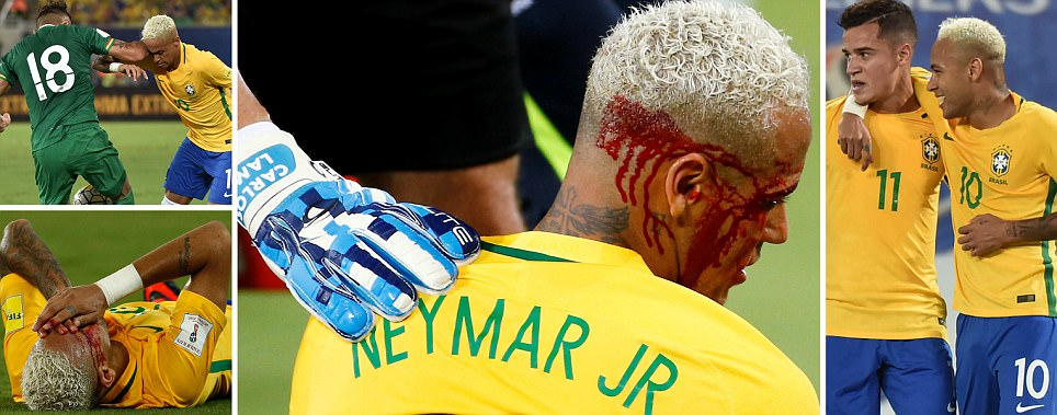 Neymar has to stop being 'Charlie Big B*******' according to Bolivia defender Yasmani Duk