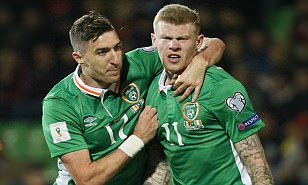 Moldova 1-3 Republic of Ireland, World Cup 2018 qualifier LIVE, plus updates as Spain and