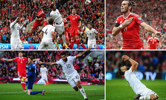 Wales 1-1 Georgia: Gareth Bale header not enough as Chris Coleman's side held to a draw as