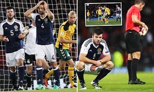 Scotland 1-1 Lithuania: Gordon Strachan under pressure despite sub James McArthur