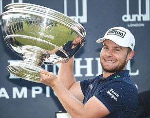 Tyrell Hatton lands first European Tour title in style by equalling record score at Alfred