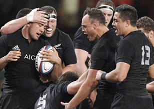 South Africa 15-57 New Zealand: Kiwis seal clean sweep in the Rugby Championship