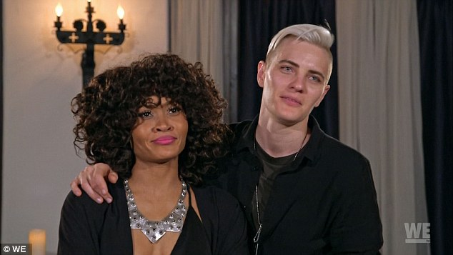 Ladies in love? Margeaux Simms from ¿Love & Hip Hop: Atlanta¿ star and androgynous Estonian girlfriend, model Merika Pamkiste told the cameras they had been together for two years